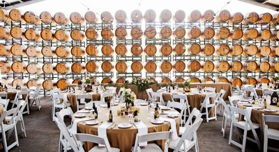 Wedding reception at Lake Breeze Wines, Langhorne Creek South Australia