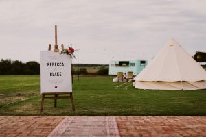 Aldinga Bay Bungalows Wedfest Styled Shoot, food truck, drinks van, beach wedding, festival, relaxed, marquee style celebration