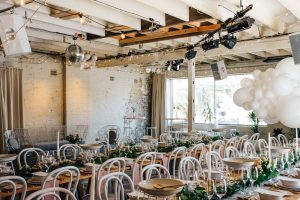Chateau Apollo, rustic industrial wedding venue in the heart of Adelaide's CBD.