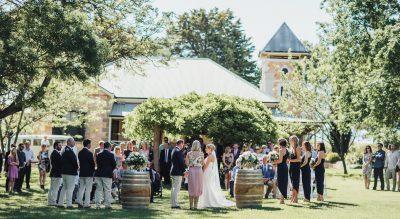 Koonowla Wines, historic winery wedding venue in SA's Clare Valley