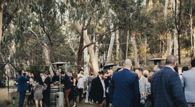 Sinclair's Gully Winery, Wedding Venue in the Adelaide Hills offering flexibility for catering, beverages and a casual woodland style feel only 20 minutes from the Adelaide CBD.