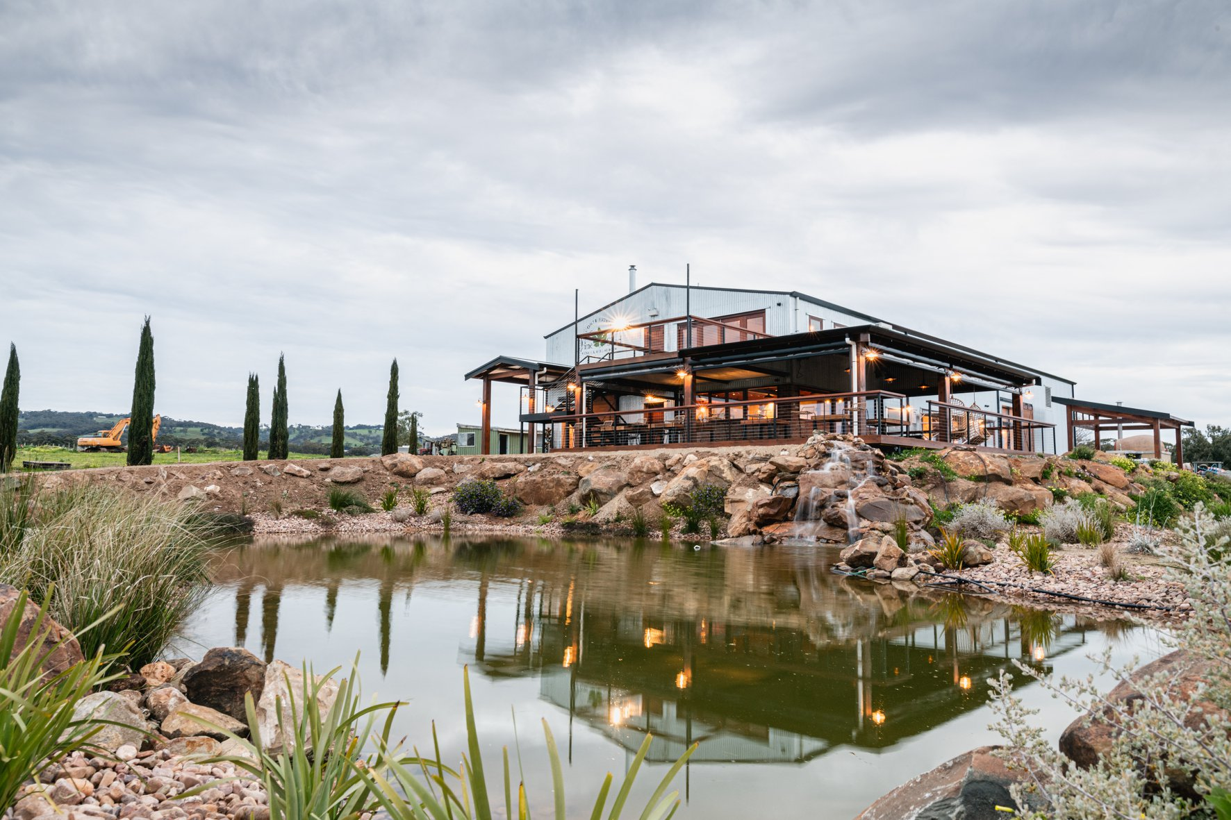 The Vine Shed Venue, McLaren Vale, purpose built wedding and function venue opening in 2020