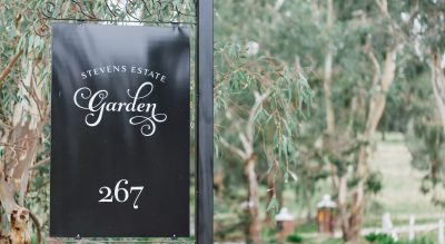 Stevens Estate Garden, Wedding Ceremony venue in the Barossa Valley also catering for small garden picnics and high teas and only a short distance from the Adelaide Hills and Northern Suburbs of Adelaide