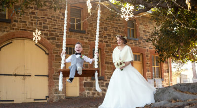 The Coach House, a 160-year-old stone stable in Semaphore and Adelaide's only urban barn wedding venue.