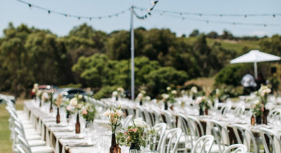 McLaren Vale Event Centre in the heart of the picturesque McLaren Vale wine region has views and space for large weddings and marquees