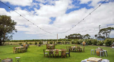Villa Vineyards is a country vineyard with rustic charm offering full flexibility in hire for weddings.