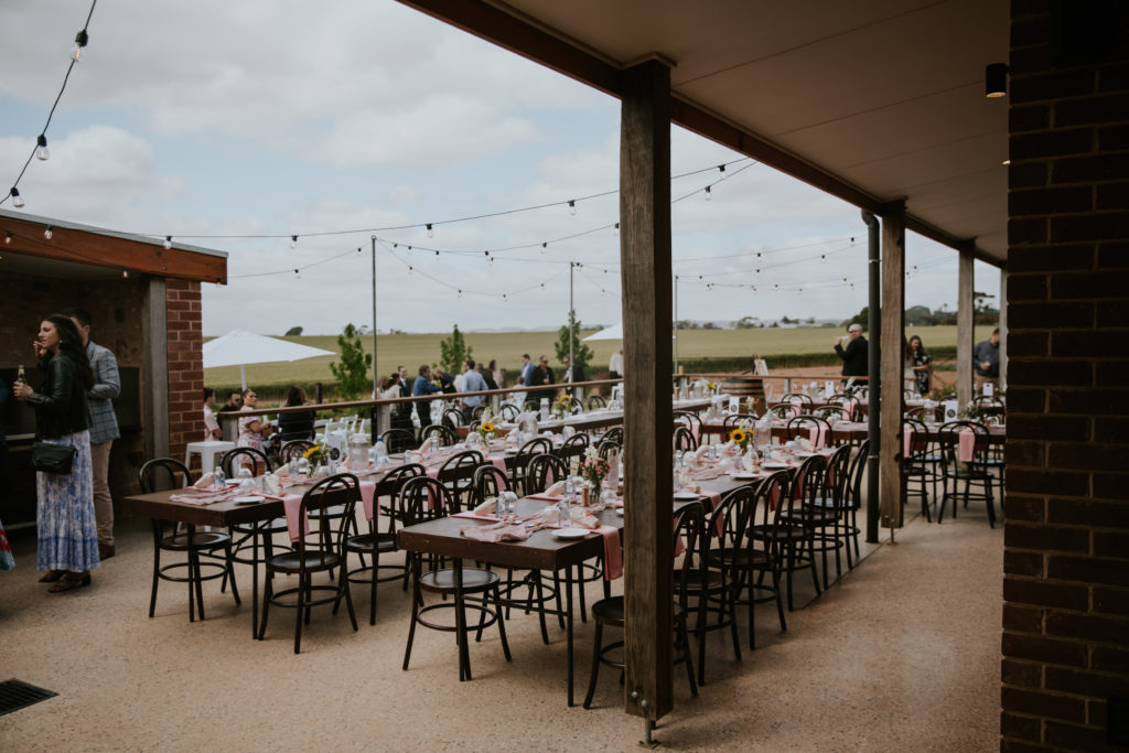 Barns of Freeling, Barossa Valley Barn, Event and Wedding Venue offering a beautiful indoor and outdoor spaces for ceremony and reception. All fully flexible in both catering and drinks.